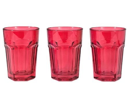 Longdrinkbecher red 3-tlg.