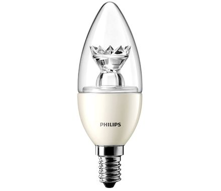 Philips Boug.LED 40W(6W)E14 dim. claire