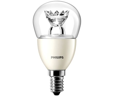 Philips Boule LED40W(6W)E14 dim. cl. bc