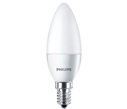 Philips Boug.LED 40W(4.3W)E14 n.d.mat bc
