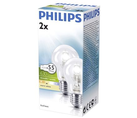 Philips Halogène 42W(55W) E27 dimmable