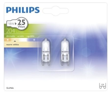 Philips EcoHalo MV Caps 18W (25W) dim.