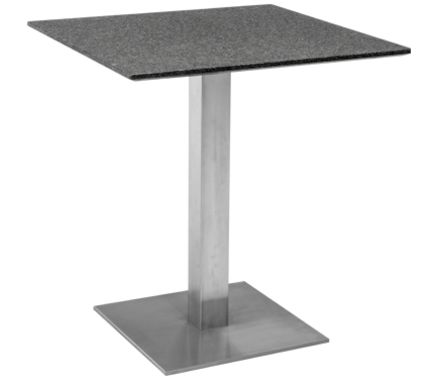 table de bistro granit nero Africa/a