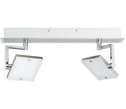 SPOT Prolongo nickel 2x7.3W LED