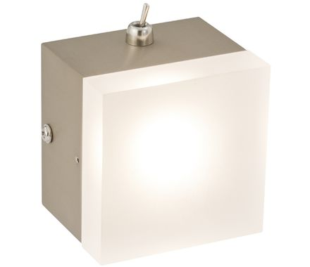 APPL Tetra nickel/blanc 6W LED