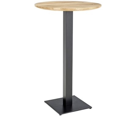 table de bar platechêne sauvage D70cm