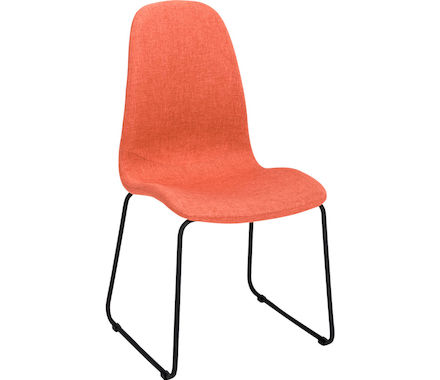 Stuhl Stoff, orange