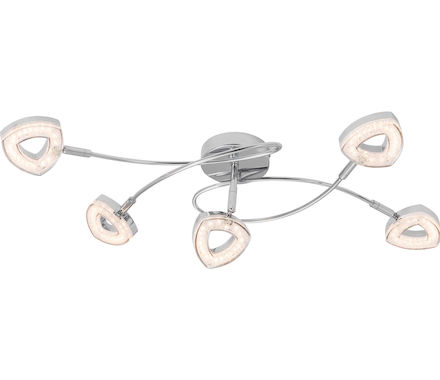 PALF. Alexa chrome 5x4.5W LED