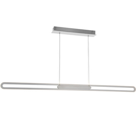 SUSP Jonna nickel/chrome 40W LED