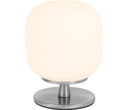 LDT Solange métal/nickel satiné 6W LED