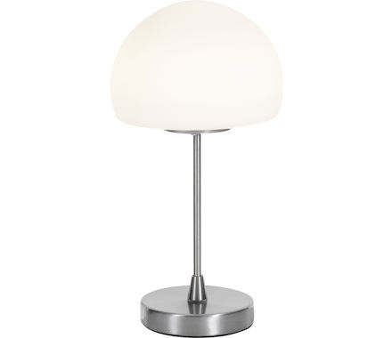 LDT Gaia nickel satiné/verre 5W LED