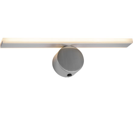 WL Straight LineNickel matt chrom LED