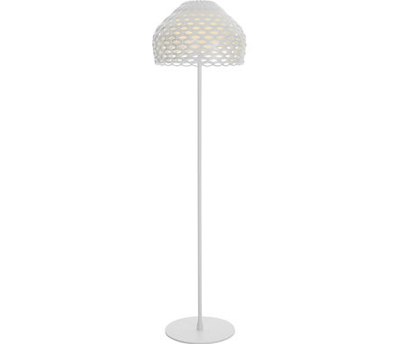 LAMP Tatou acier/blanc E27 IP20