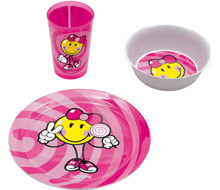 Kinder-Set SmileyKid Girl 3-tlg. SMIL