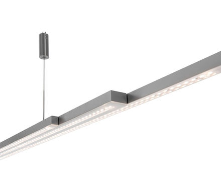 SUSP. L-lightLINE nickel 60W LED