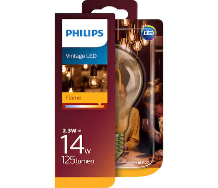 Philips Fil. Spiral LED 2.3W(14W)E27