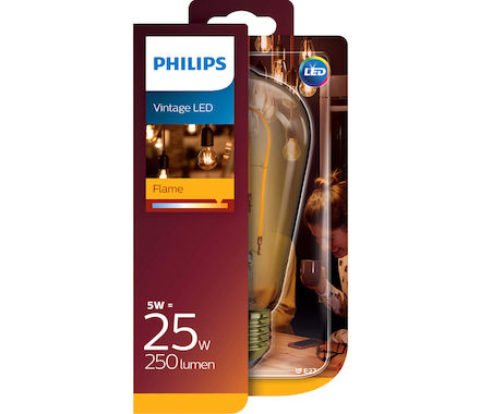 Philips Fila. SpiralLED 5W (25W) E27