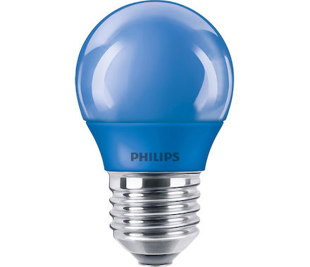 Philips Sferica LED3.1W (15W) blu tap.