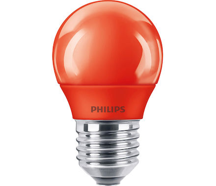Philips Sferica LED3.1W(15W) rossa tap.