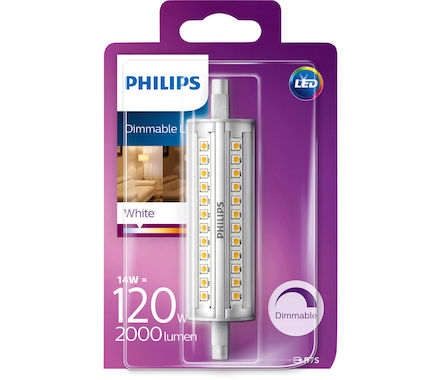 Philips Lamp. lin. LED 14W(120W) R7S b