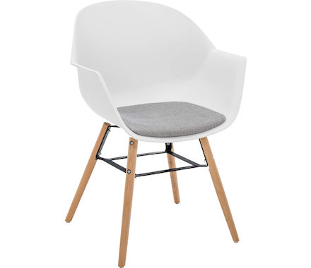 Fauteuil coquille Kada