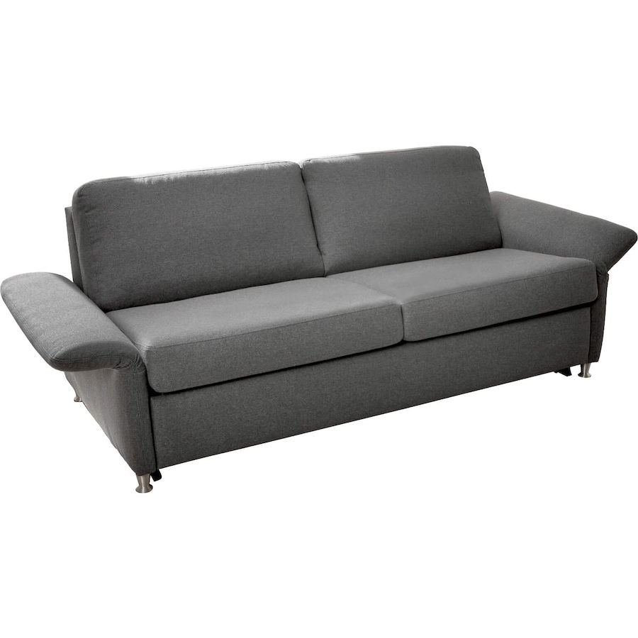 Bettsofa All Round Stoff Grau B 221 T 95 H 80 Cm Livique