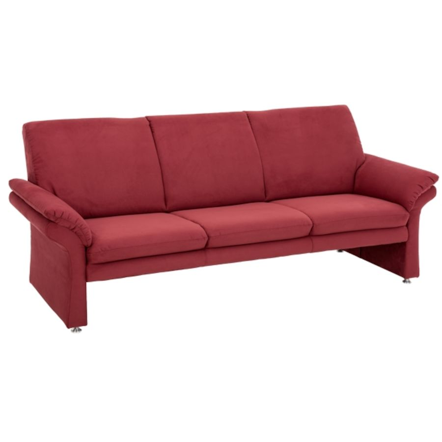 sofa bolozo bezug stoff rot b 206 t 84 h 86 cm livique. Black Bedroom Furniture Sets. Home Design Ideas