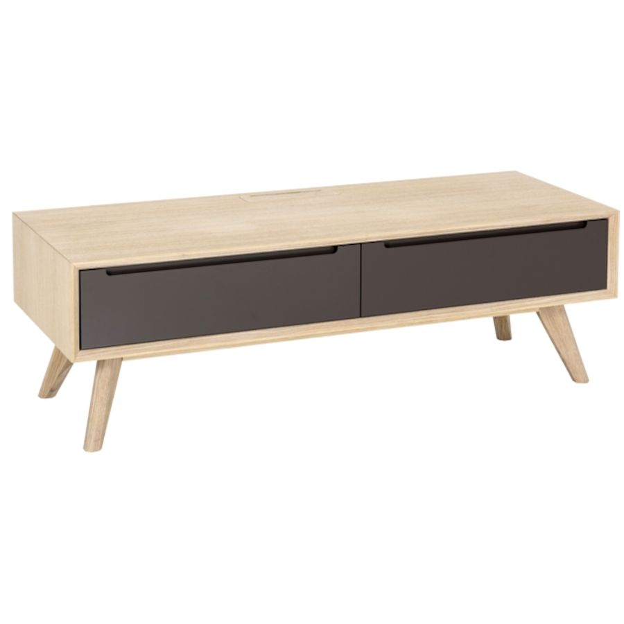tv m bel lissabon holz eiche b 120 t 44 h 40 cm toptip. Black Bedroom Furniture Sets. Home Design Ideas