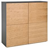 Highboard Wildeichefurniert