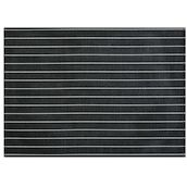 Set de table Stripes noir 45x33cm