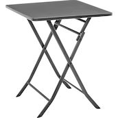 Table plieable acier anthracite