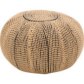 Hocker Polyester beige