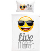 Bettgarnitur Emoji 160x210+65x100 Live