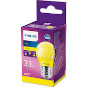 Philips Sphéri. LED 3.1W (15W) E27 jaune