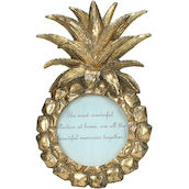 Bilderrahmen Pineapple 8x8 gold