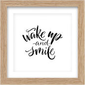 Image 30x30cm wake up and smile