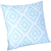 Cuscino Elina 45x45cm white/blue