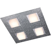 DL Basic Aluminium 4x4.1W LED