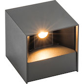 LAMP.EST. LDP Durant anthr. 2x3W LED