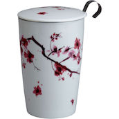Bicchiere Tea Time 350ml cherry blossom