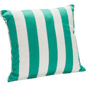 Cuscino Stripes 48x48cm turc./bianco