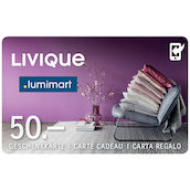 Carta regalo Livique  50 (APP)
