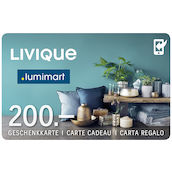 Carta regalo Livique 200 (APP)